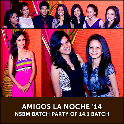 Amigos La Noche '14 - NSBM Batch Party of 14.1 Batch