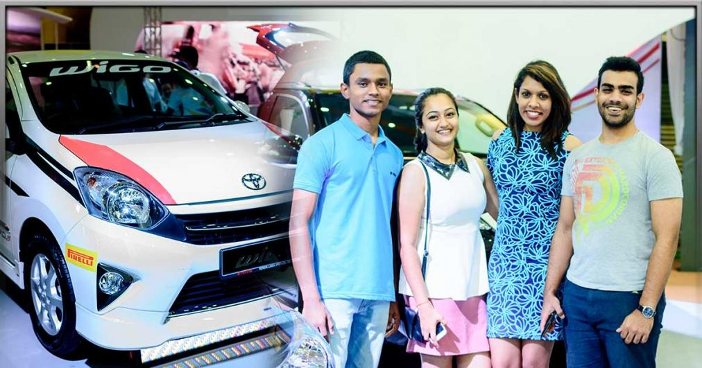 Launch of the all new Wigo by Toyota Lanka