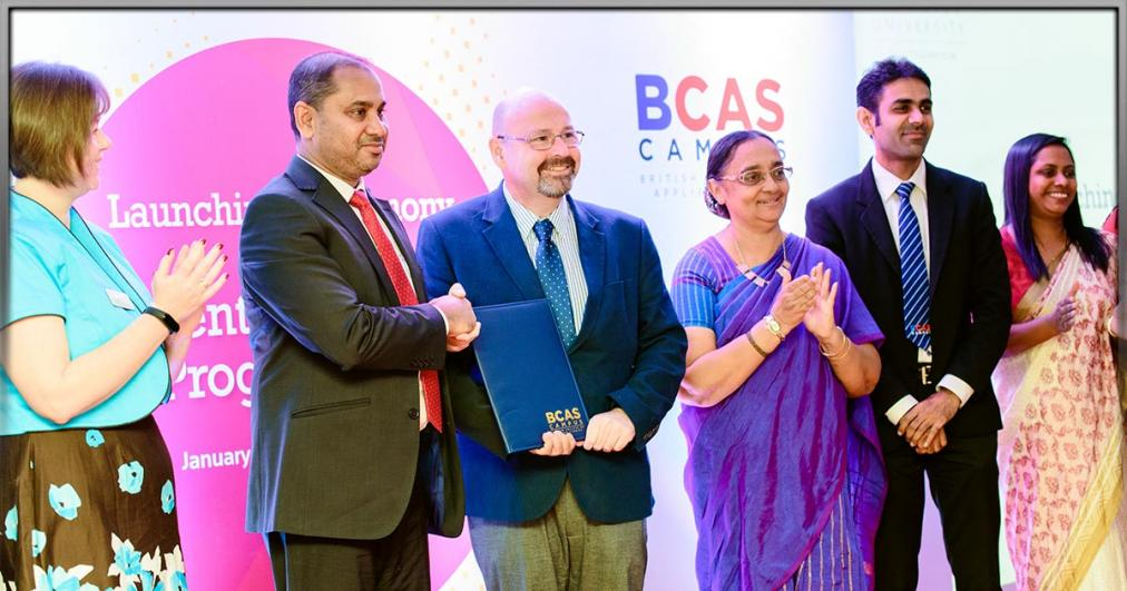BCAS Campus Sri Lanka ties up with Solent University, Southampton UK