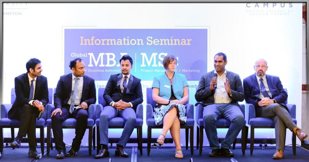 MBA & MSc (Project Management & Marketing) - Information Seminar 2020