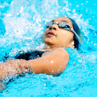 flanders swimming meet at sugathadasa