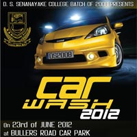 DS Senanayake College Colombo Car Wash 2012