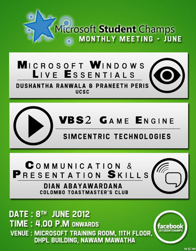 MicorSoft Student Champs Monthly Meeting - June