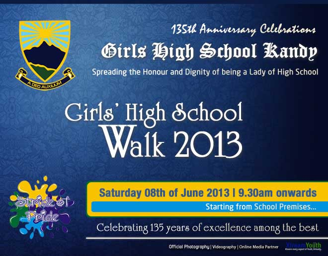 Girls High School Walk 2013