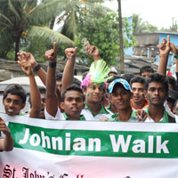 Johnian Walk and Old Boys' Talent Show 2013