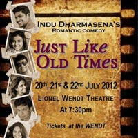 Indu Dharmasena's - JUST LIKE OLD TIMES