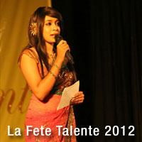 Visakha Vidyalaya La Fete Talente 2012