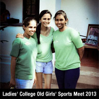 Ladies' College Old Girls' Sports Meet 2013