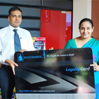 M. D. Gunasena launches industry first 'Loyalty Member' programme