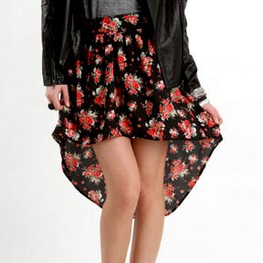 Mullet Skirt AKA Asymmetrical Skirt