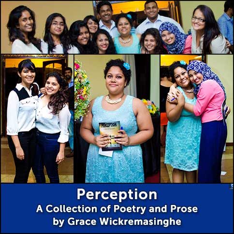 Perception : A Collection of Poetry and Prose by Grace Wickremasinghe