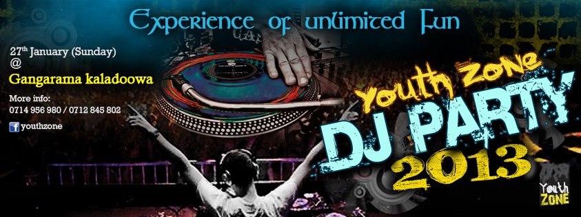 Youth Zone DJ Party 2013